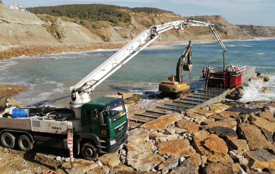 Port rehabilitation, Lourinhã