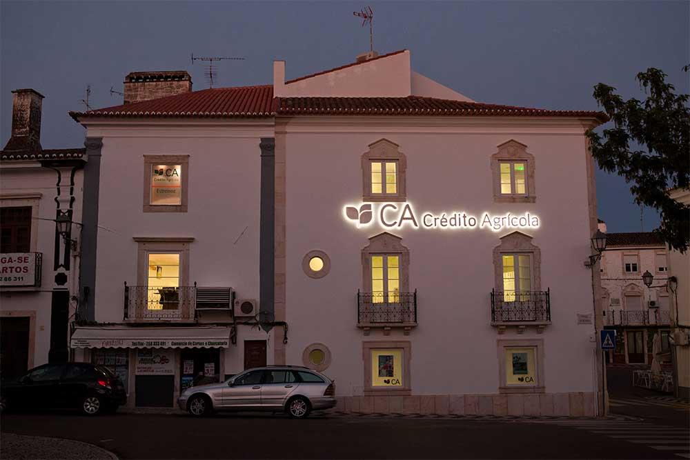 Caixa Agrícola bank, Estremoz