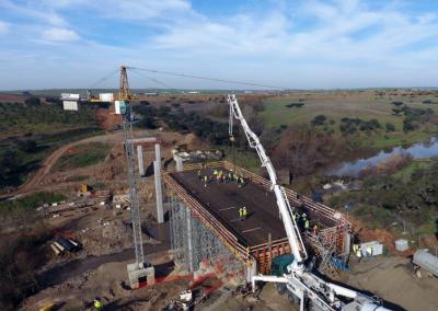 """IP - Construção """"in situ"""" da ponte do Albardão"""